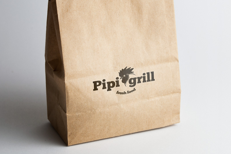 Pipi grill - Tvorba loga