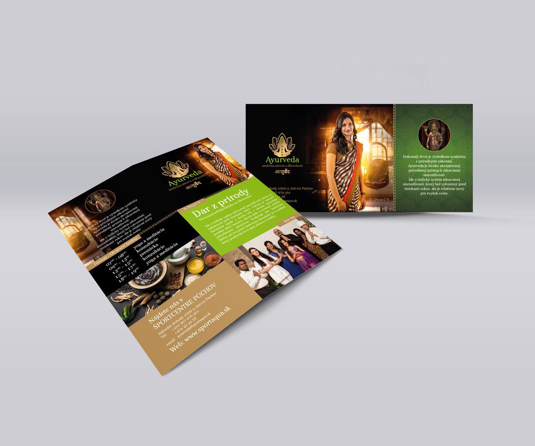 Ayurveda - Grafický dizajn