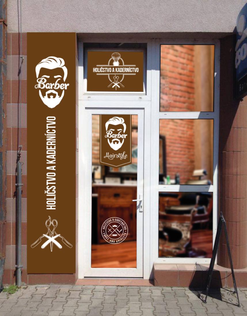 Barber shop - Grafický dizajn