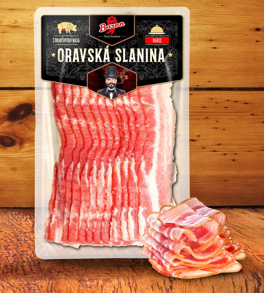 Baron - oravska slanina - Obalový dizajn