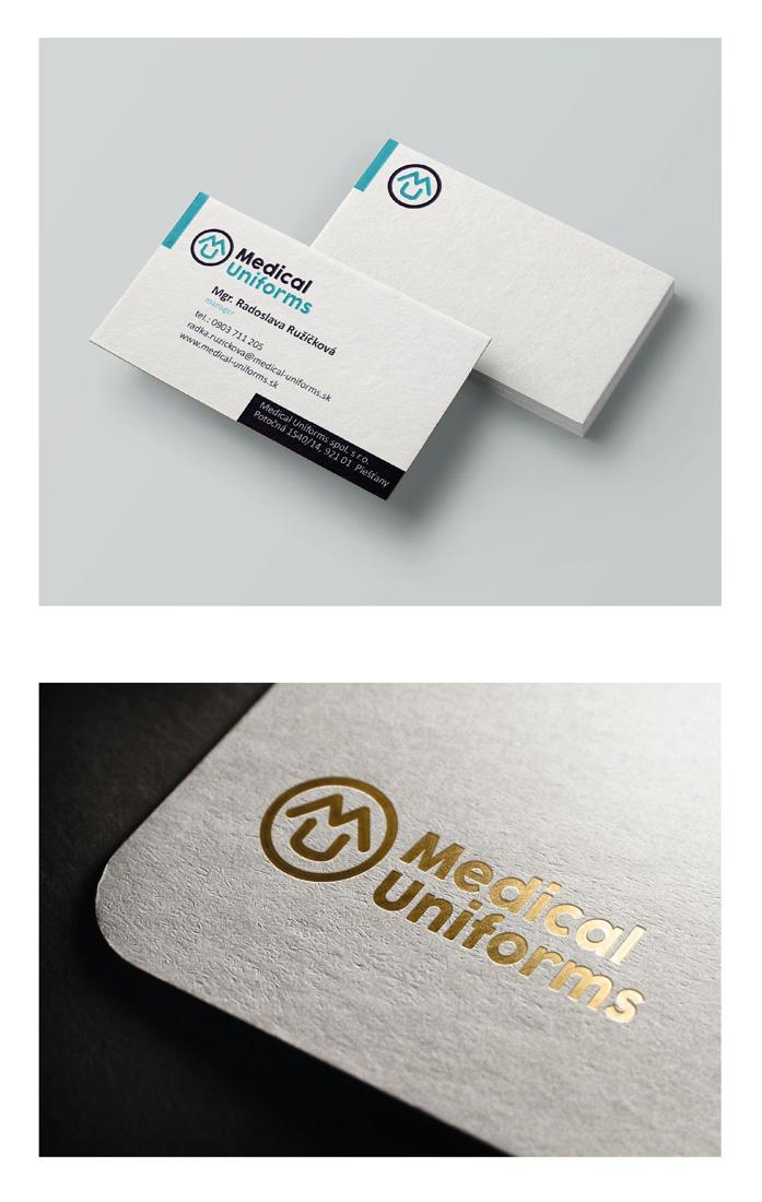 Medical Uniforms logo - Tvorba loga
